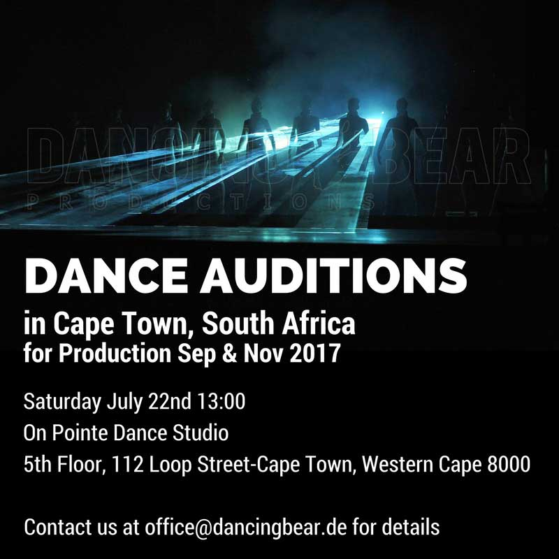 Dance Audition Johannesburg South Africa