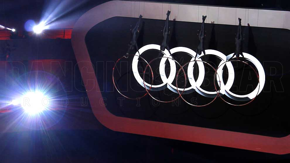 AUDI A6L PRESENTATION CHINA 2012 - Aerial Artists with Hoops