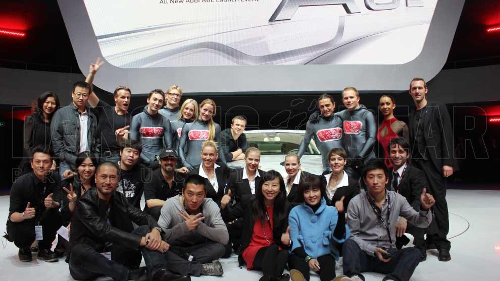 AUDI A6L PRESENTATION CHINA 2012 - Show Team