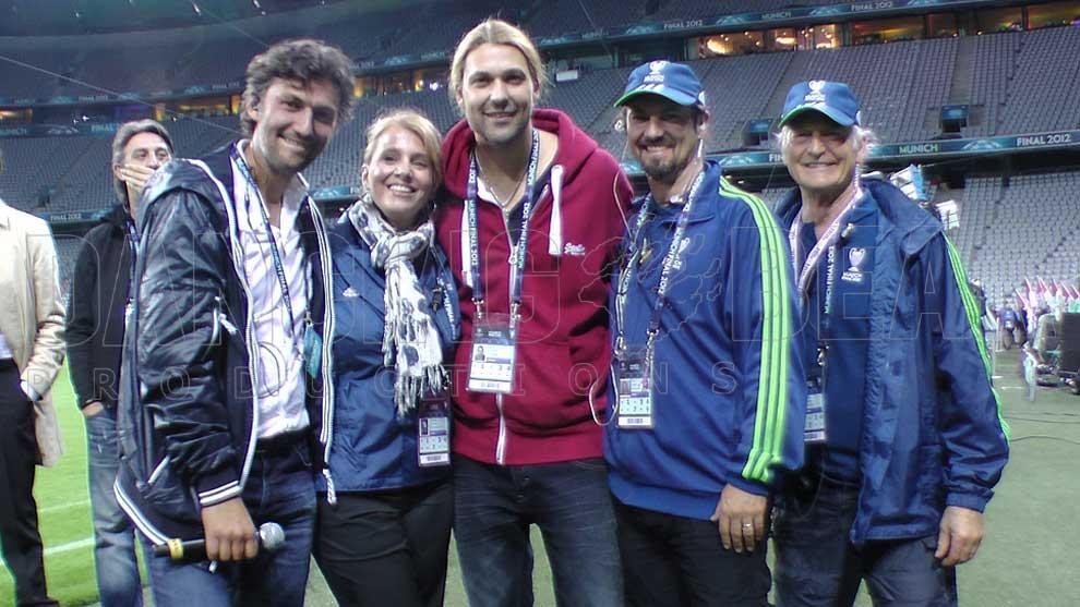 UEFA Champions League Finale 2012 Opening Show - Jonas Kaufmann & David Garrett & Dancing Bear Team